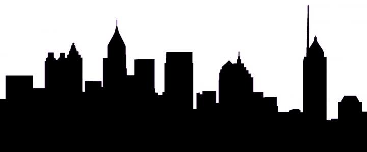 Skyline clipart  Atlanta Skyline Best Clipart