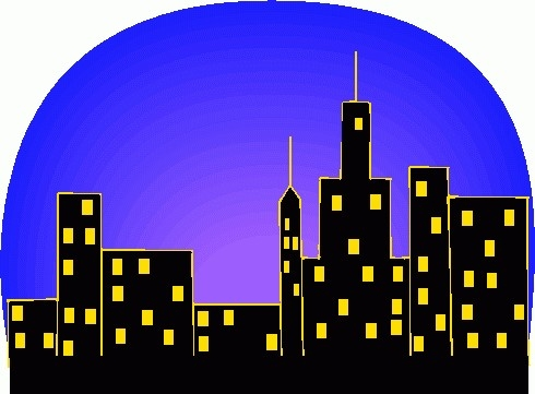 Skyline clipart  jpldesigns City skyline clip
