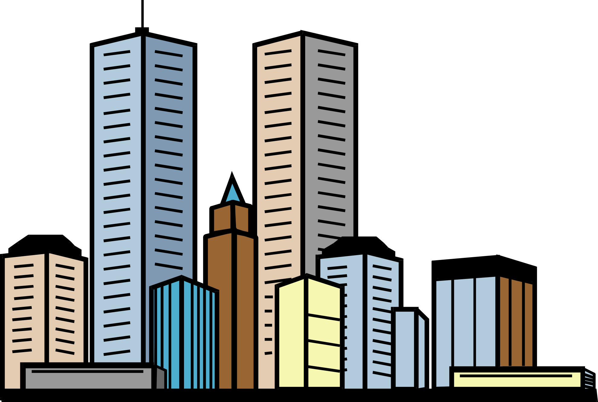 Skyscraper clipart skyline building And Panda skyscraper%20clipart Clipart