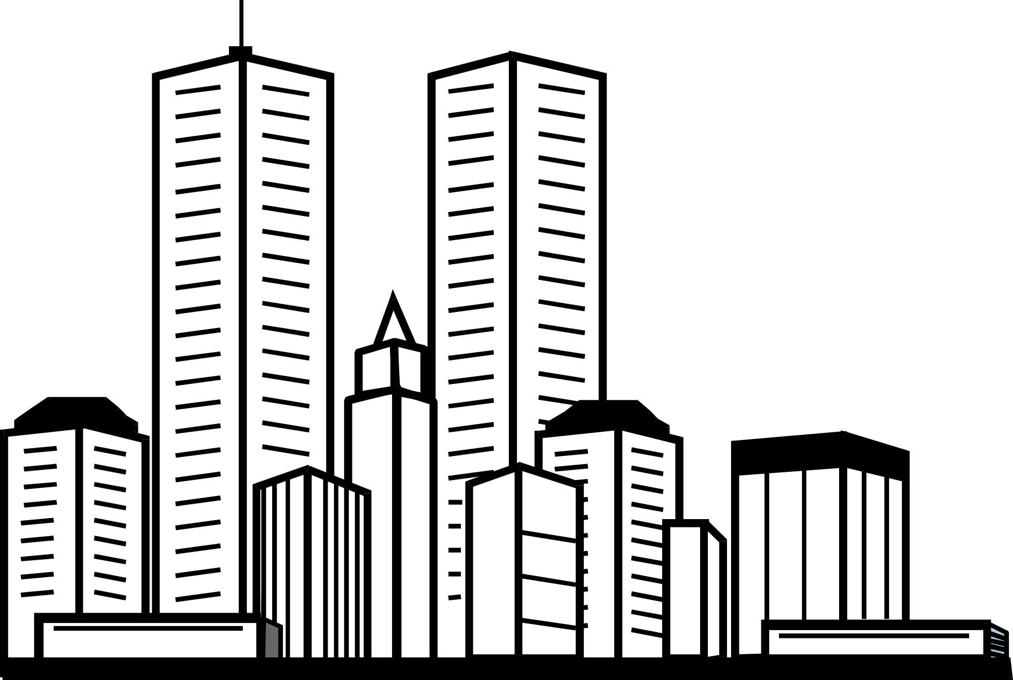Skyscraper clipart skyline building Drawings Download Skyscraper svg Skyscraper