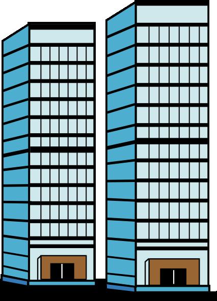 Skyscraper clipart commercial building Skyscraper Download #4 svg svg