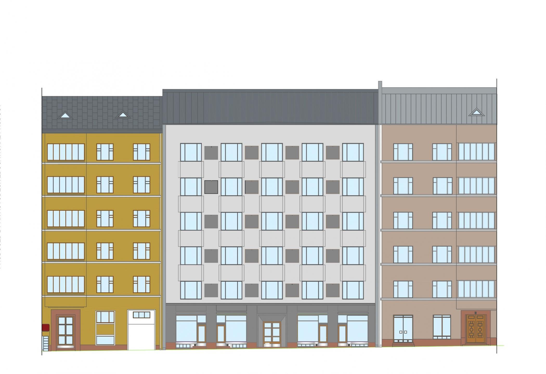 Skyscraper clipart apartment building Building Free Decor Apartment Cartoon