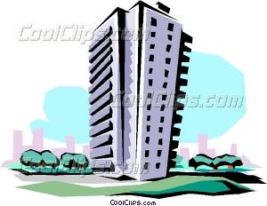 Skyscraper clipart apartment building Apartment building Clip Vector Apartment
