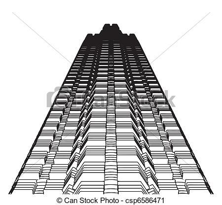 Architecture clipart skyscraper Vector Skyscraper Abstract Abstract Skyscraper