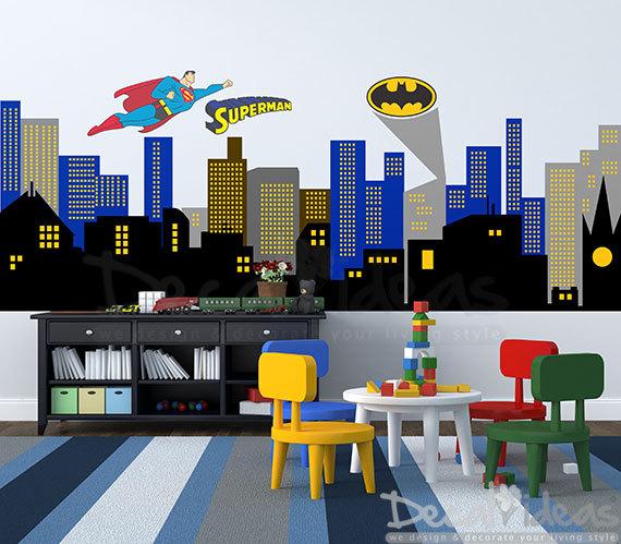 Skyscraper clipart batman  City City wall Superman