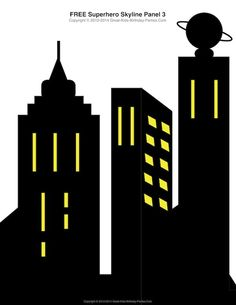 Skyscraper clipart city building Freebies free silhouette para Pinterest