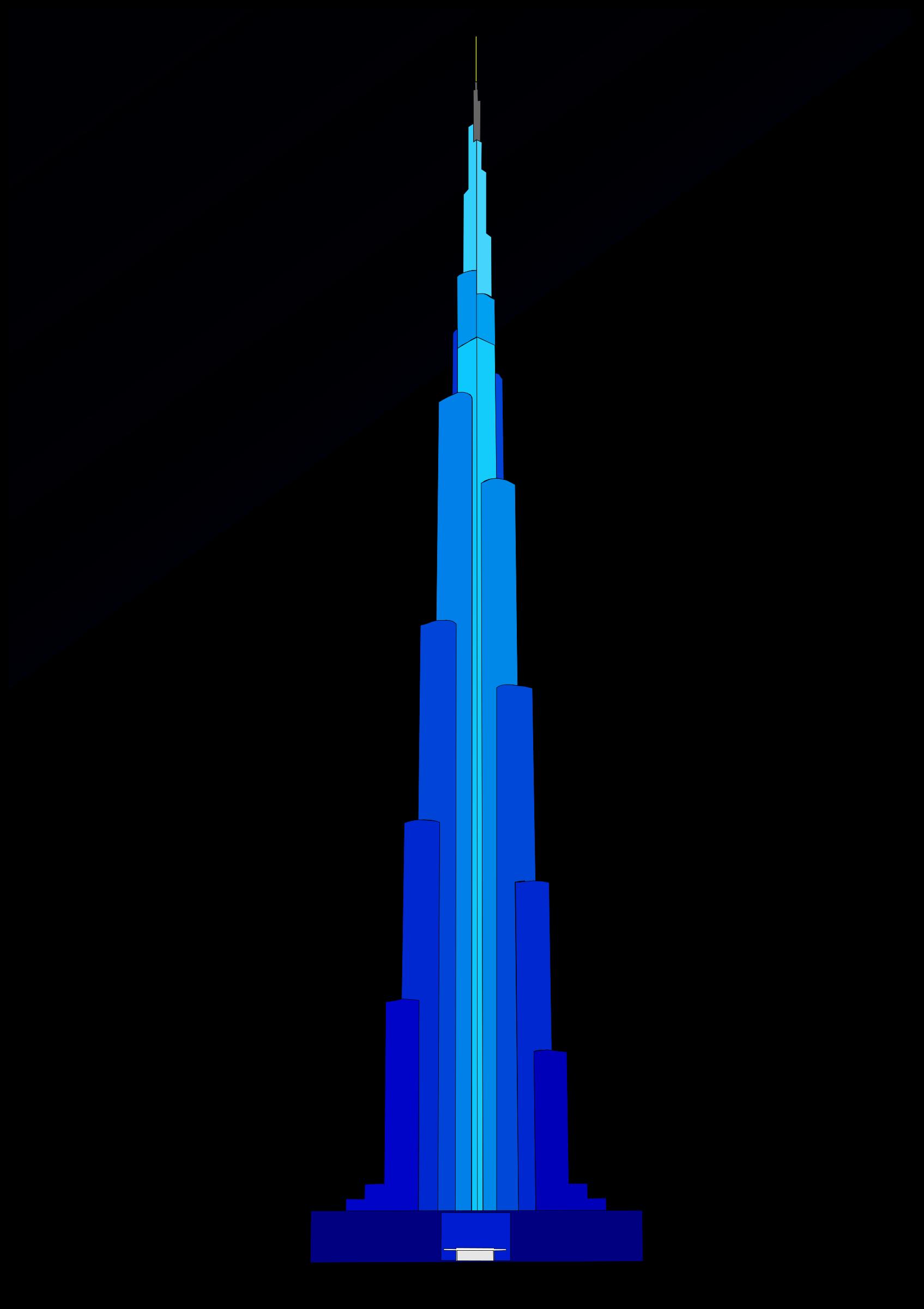 Tower clipart skyscraper #9