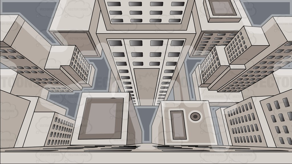 Skyscraper clipart building background  The Top Cartoon Skyscraper