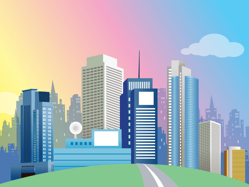 Skyscraper clipart building background Background Cities images great with