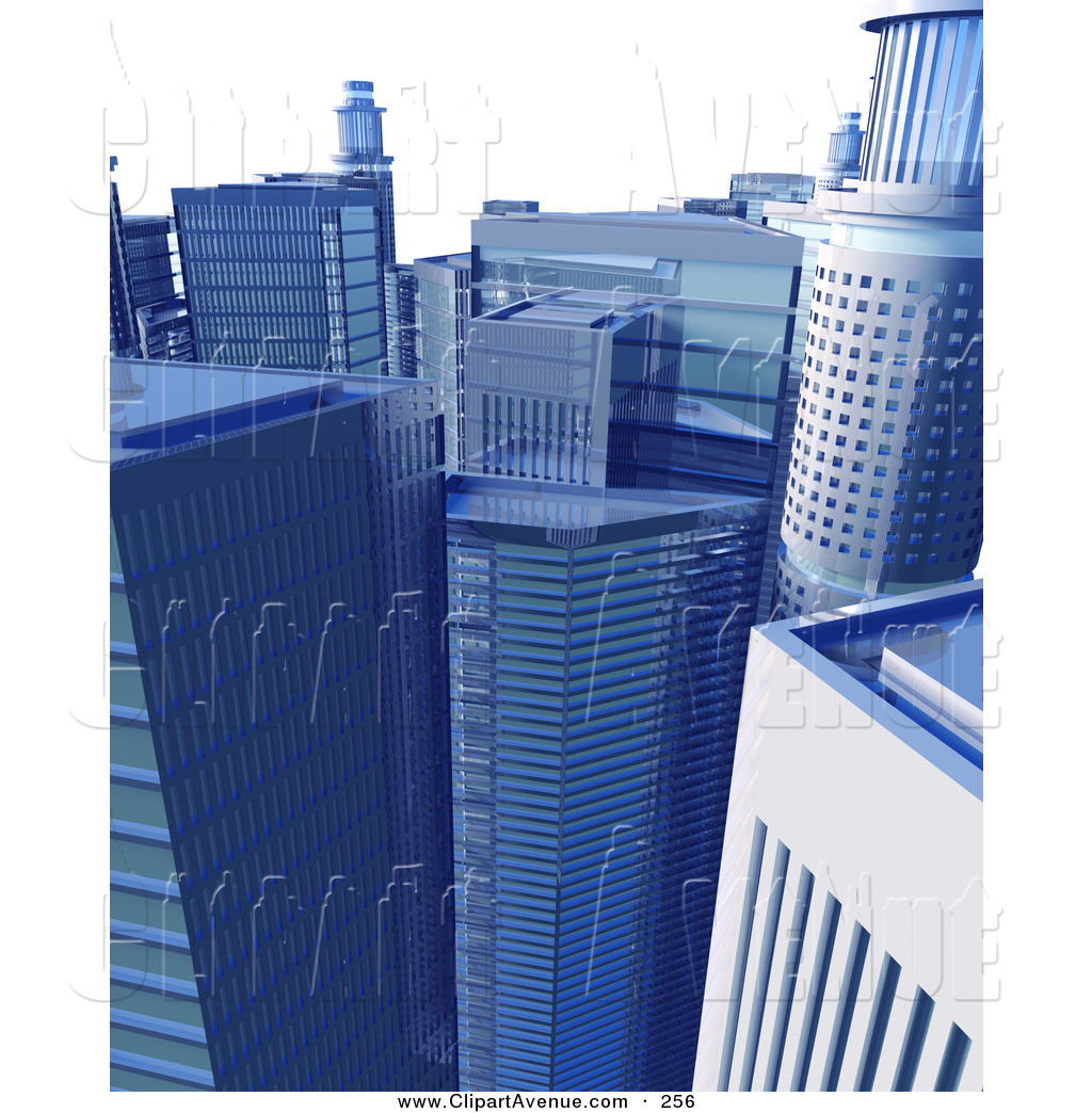 Business clipart downtown Clipart a Avenue  the