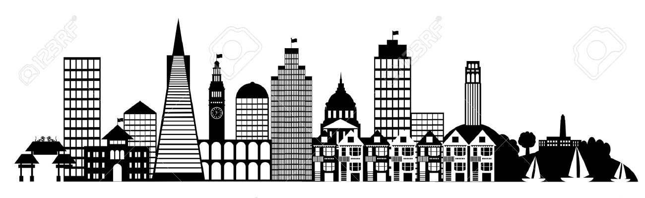 Skyscraper clipart city building And City and clipart Cliparting