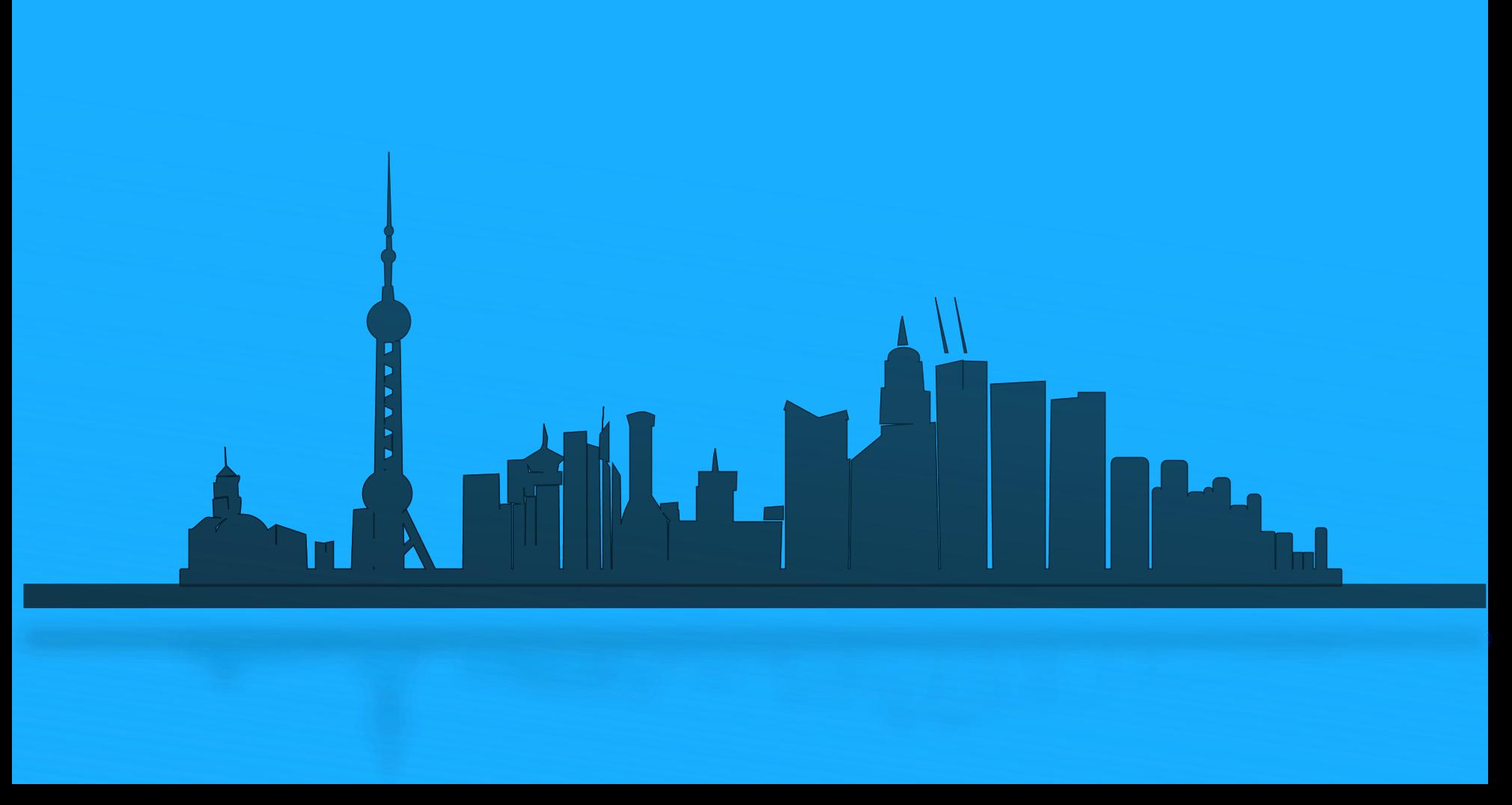 Skyscraper clipart city landscape Clipart free kid City 3
