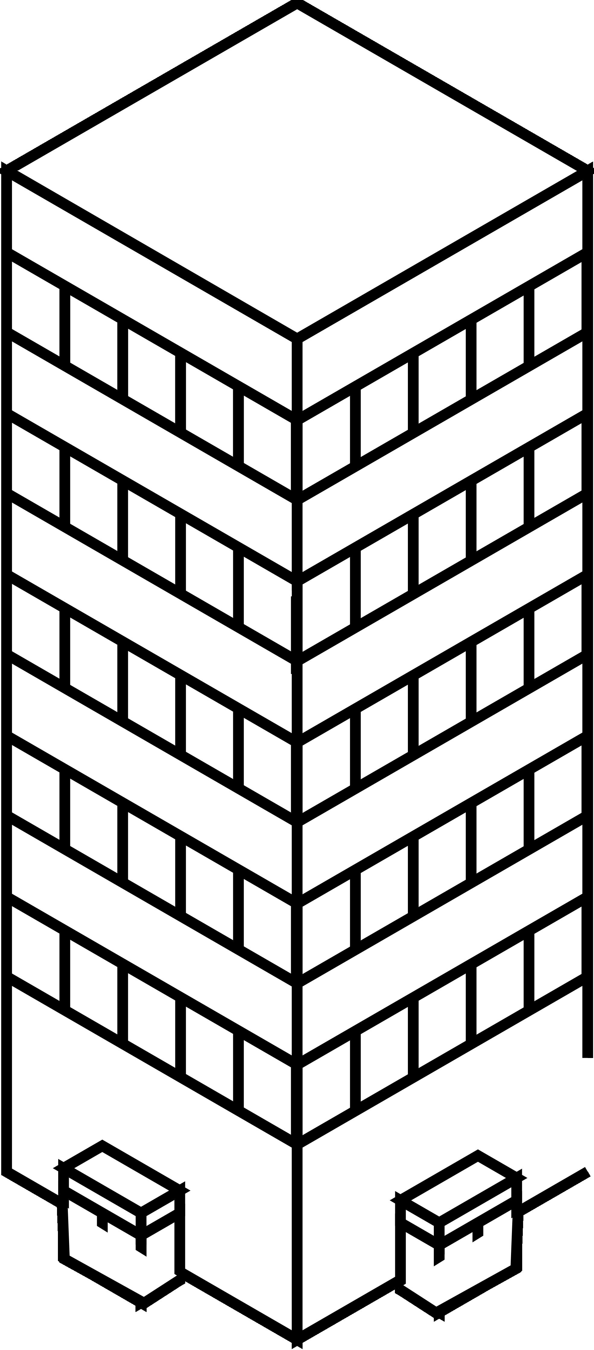 Tower clipart skyscraper #7