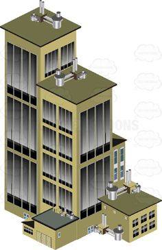 Skyscraper clipart commercial building With Skyscraper Clipart From Cartoon