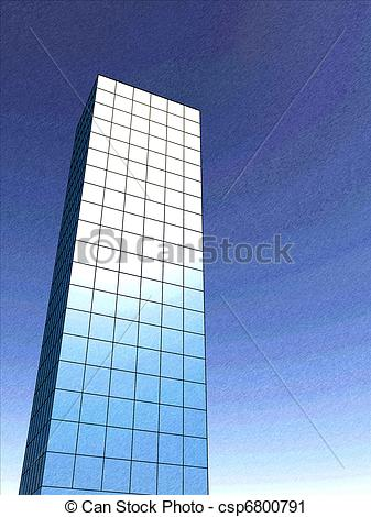 Towers clipart corporation building Corporate of a csp6800791 Sketch