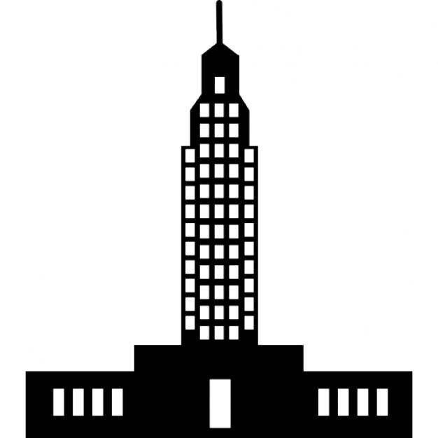 Skyscraper clipart empire state building Free state Empire Download PSD