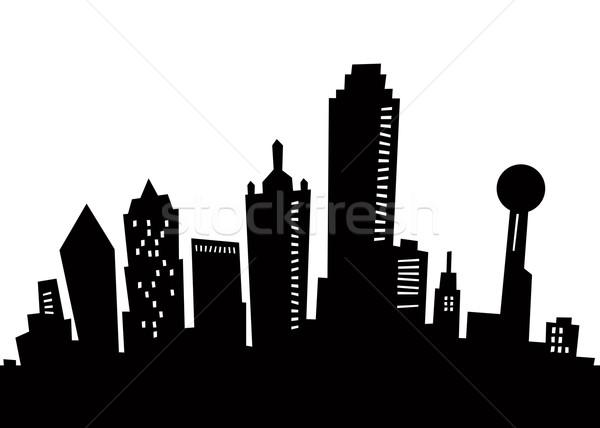 Skyscraper clipart generic Stock Stock and Dallas blamb