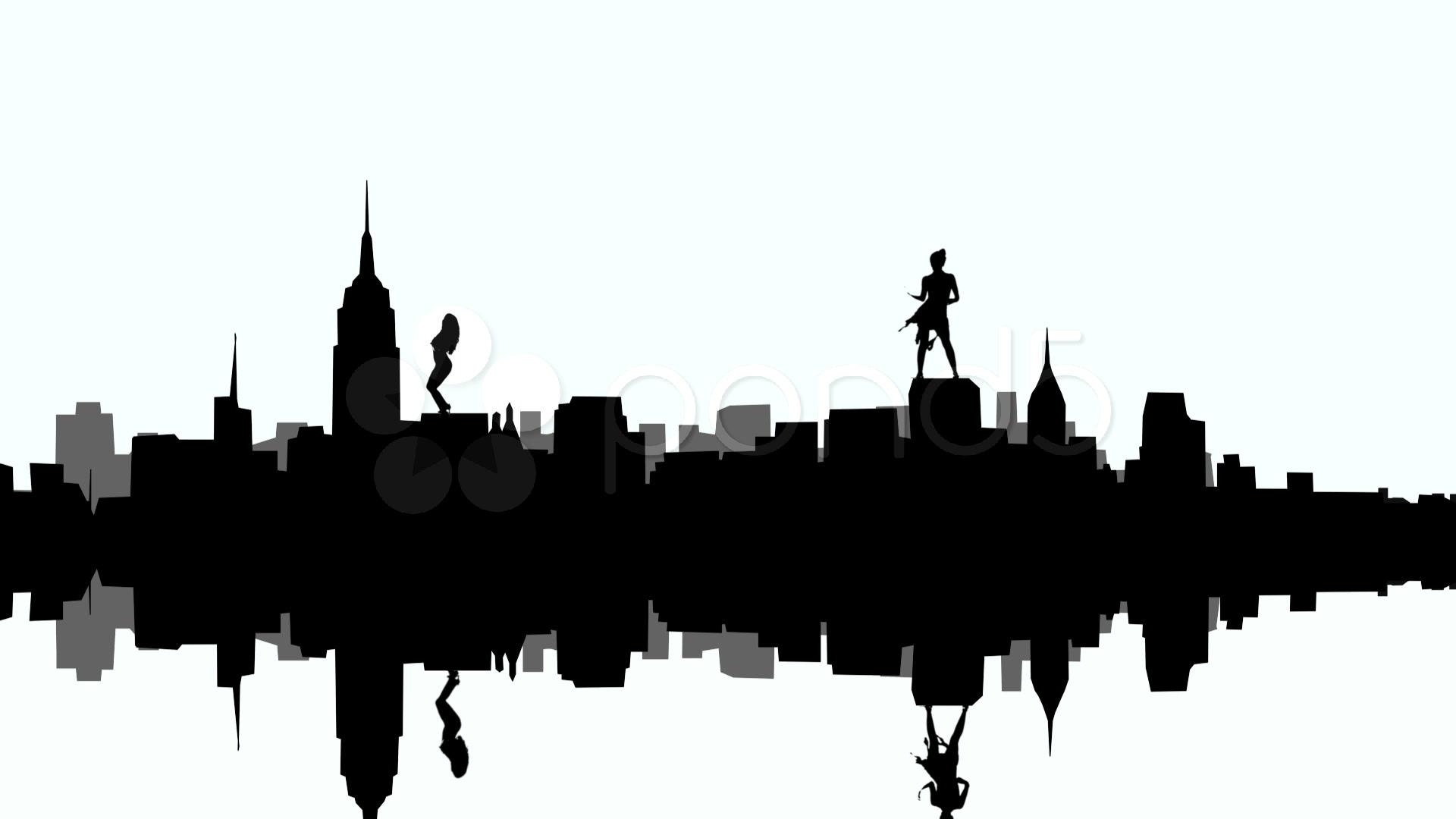 Building clipart gotham city Clipart #7 Skyline clipart Download