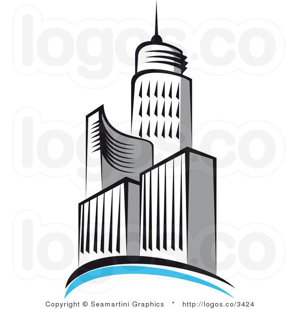 Architecture clipart skyscraper Gray Clipart Free Info Panda