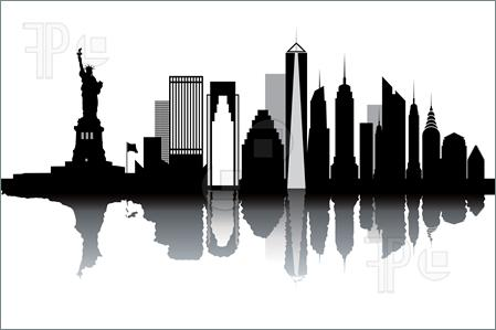 Skyscraper clipart ny skyline Clipart Inspiration York Skyline Illustration