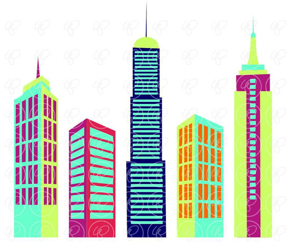 Skyscraper clipart one Clip Art: is Skyscraper Buildings