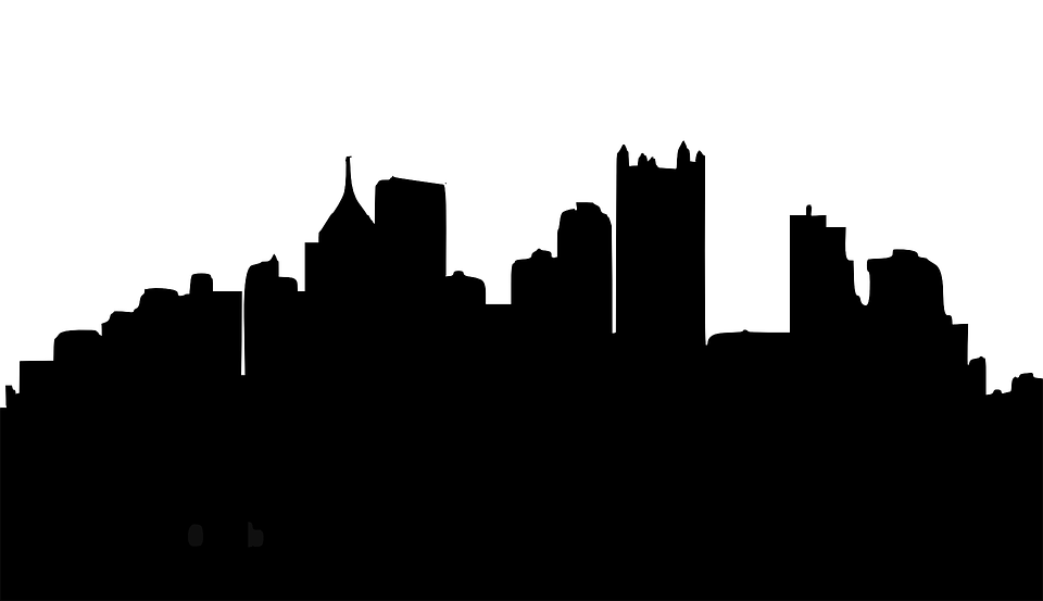 Cityscape clipart silhouette Pittsburgh Free Skyline photo Skyline