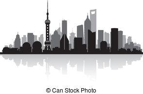 Skyscraper clipart shanghai  of Guangzhou Shanghai Skyscraper
