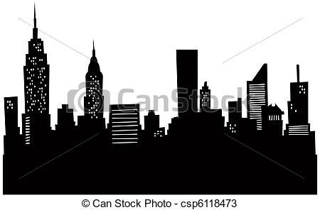 Drawn bulding  new york skyline Drawings the Cartoon Skyline Skyline