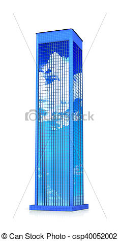 Single clipart skyscraper Illustration Illustration isolated Stock Stock