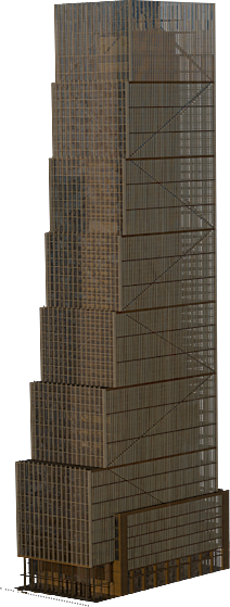Skyscraper clipart tower building Live 50 Hudson in Hudson