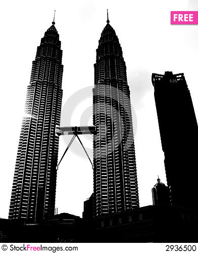 Skyscraper clipart city building Twin Petronas Images Photos