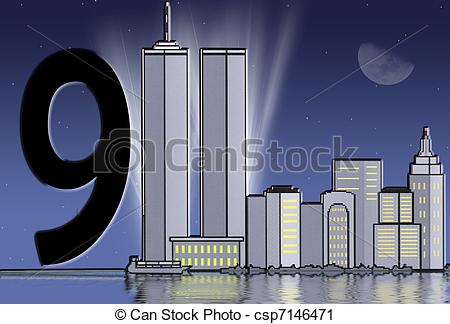 Tower clipart twin towers #8
