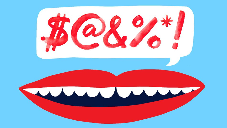 Slang clipart swearing Words The f*cking favorite swear