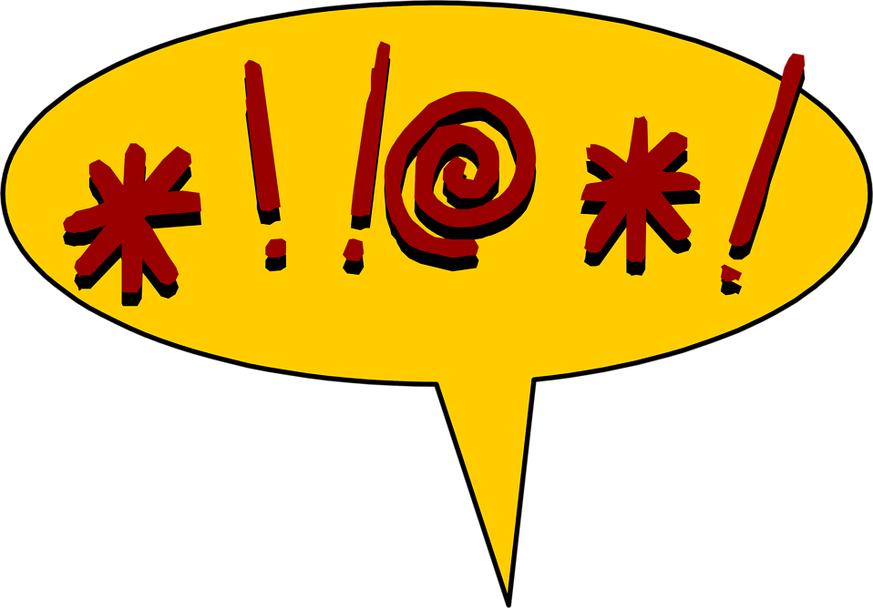 Slang clipart swearing Hanley Words Fantasy Creating Swear