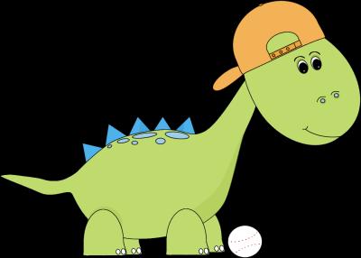 Baseball clipart cute Clip Art Dinosaur Panda Clipart