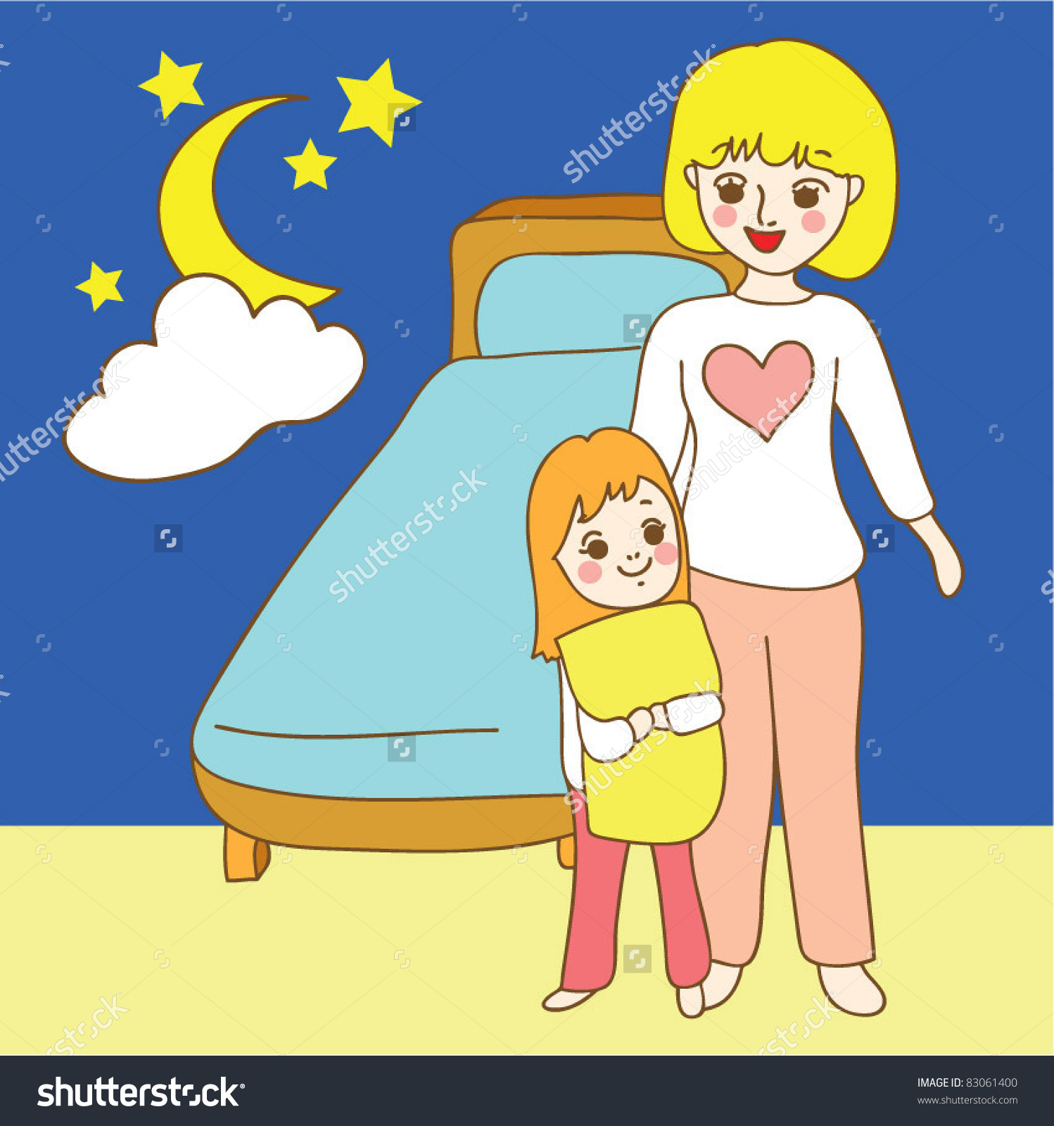 Of evening evening of Clipart