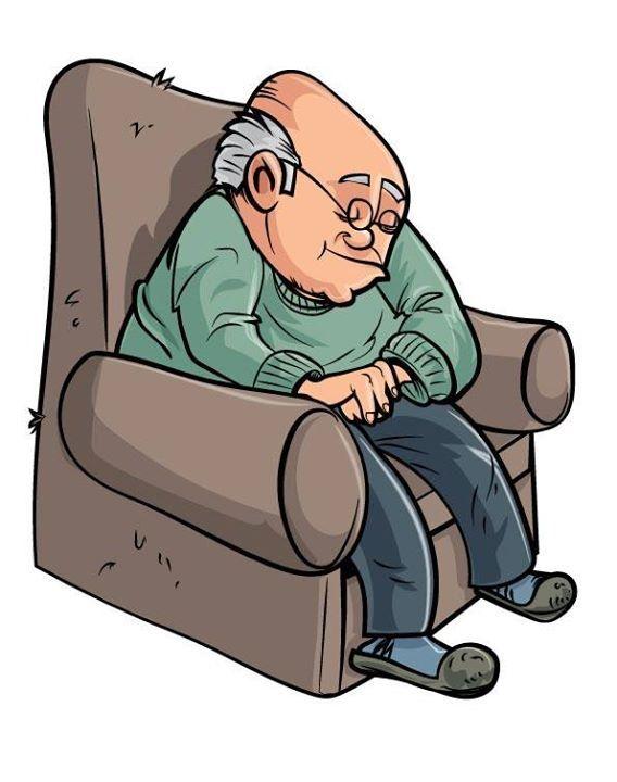 Old clipart pensioner Sleeping People) Emberek 464 Mesevilág: