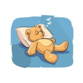 Teddy clipart sleepy Nap Cliparts  Clipart Time