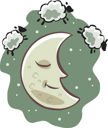 Sheep clipart tired #1