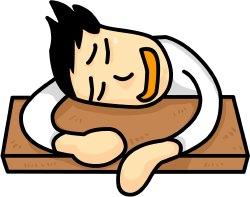 Tired clipart lack sleep #3