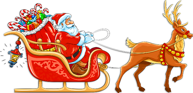 Sanya clipart deer Clip and Clipart Gallery Sleigh