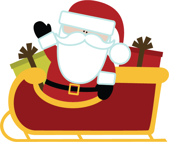 Sleigh clipart cute Download Download svg svg drawings