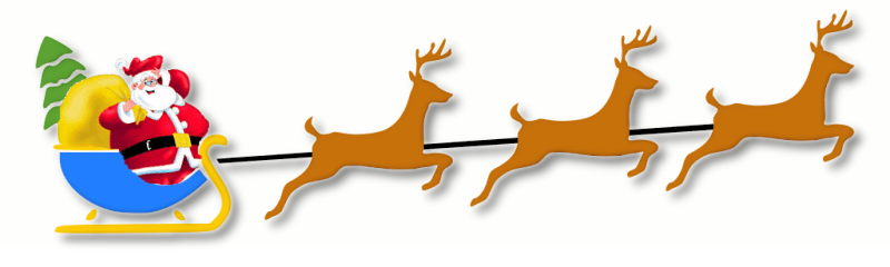 Sleigh clipart deer Sleigh Clip 1 Page Download