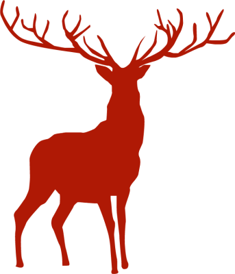 Sleigh clipart deer Pinterest For Png Sleigh Christmas