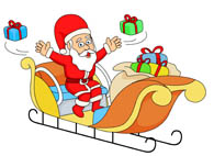 Sleigh clipart gift For Search gifts clipart 107