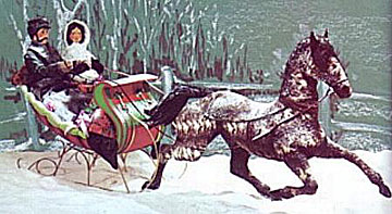 Sleigh clipart one horse open sleigh Blog Emily Books Kay with