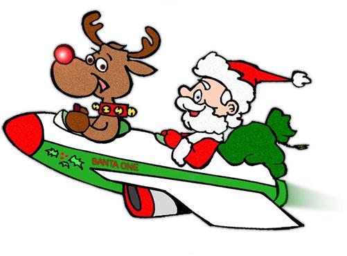 Sleigh clipart santa sleigh Clipart Free Christmas Sleigh Rudolph