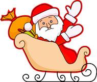 Sleigh clipart santa sleigh Search Results Christmas Clipart 104