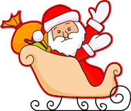 Sleigh clipart santa sleigh Search Pictures  Christmas Clipart