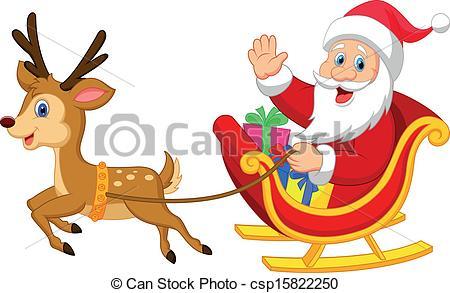 Sleigh clipart santa sleigh In Collection Santa Clipart sleigh